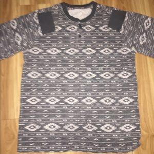 Long sleeve Aztec shirt